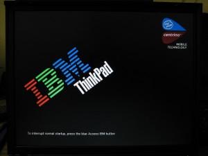 IBM LENOVO LAPTOP STUCK ON LOGO SCREEN SOLUTION